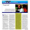 Qué maravillosa entrevista me regaló Paco de Lucía, que podéis releer hoy gracias a las benditas redes…