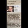 """Gracias al """"Cultura/s"""" de @LaVanguardia, siempre, por su apoyo: el mejor suplemento cultural de España"""