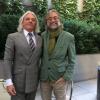 Con Hugo Jacomet, árbitro de elegancia masculina