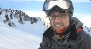 Victor Amela Esquiant Ski Extreme