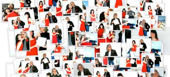 """Una sesión de fotos para los liantes de """"PARAULES D'AMOR"""""""