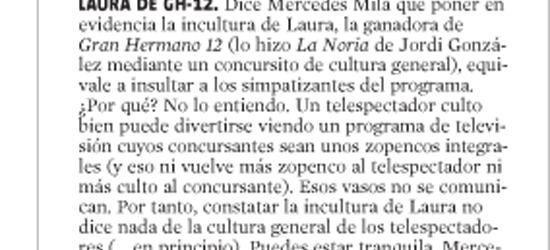 CRÍTICA DE TV | Concursos e incultura