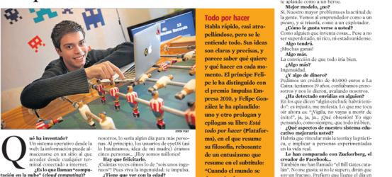 La Contra | La Vanguardia: Pau Garcia-Milà Pujol, innovador del mundo digital