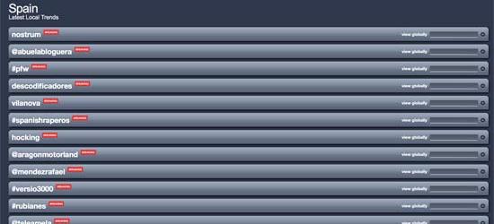 @teleamela se cuela en la lista de Trendsmap!