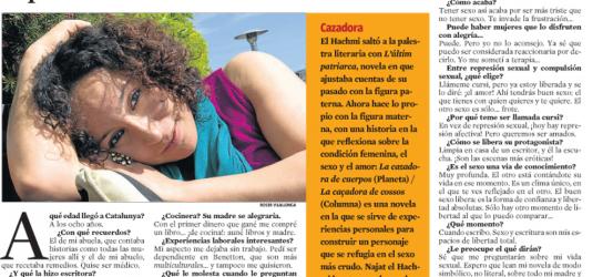 La Contra | La Vanguardia: Najat el Hachmi, novelista