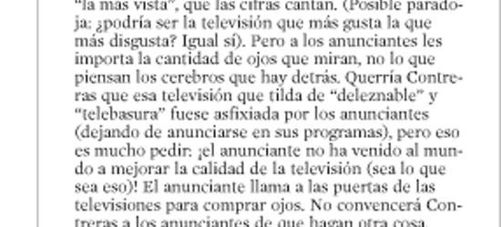 CRÍTICA DE TV | Compradores de ojos