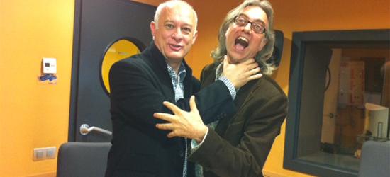 Con Pedro Madueño en RNE