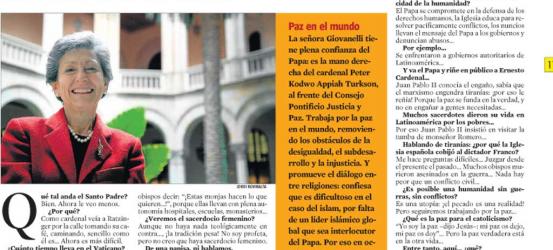 La Contra | Flaminia Giovanelli, subsecretaria del Consejo Pontificio Justicia y Paz