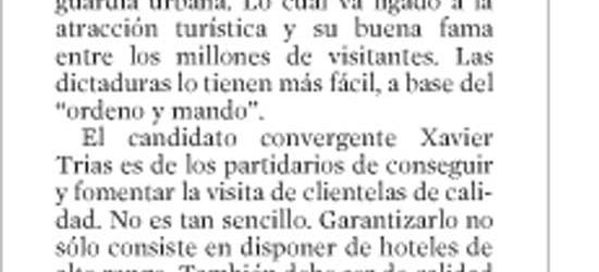 La Vanguardia | Jaime Arias escribe sobre