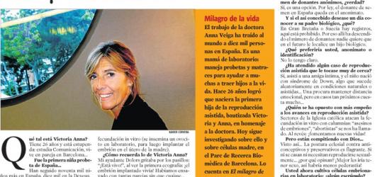 La Contra | Anna Veiga, especialista en reproducción asistida