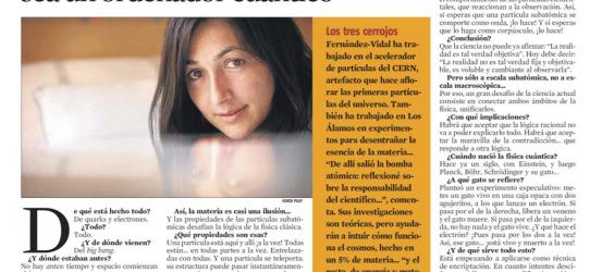 La Contra | Sonia Fernández-Vidal, física cuántica
