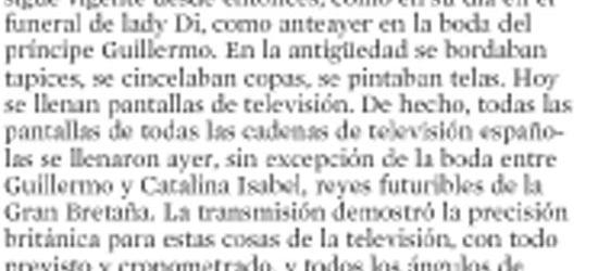 Crítica de TV | Tecnología coronada