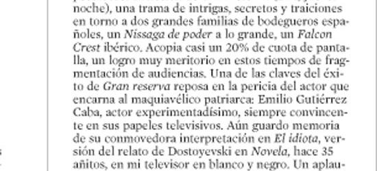 CRÍTICA DE TV | Ángeles y pepinos
