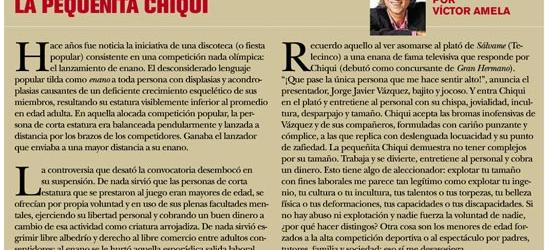 TVmanía | La pequeñita Chiqui, 18 de junio 2011