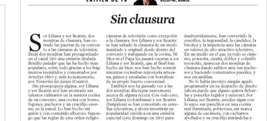 CRÍTICA DE TV | Sin clausura
