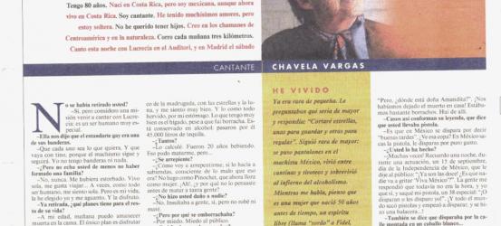 La Contra | Chavela Vargas, cantante: 'Soy uno de los seres más libres de la Tierra'