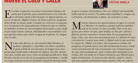 TvManía | Mueve el culo y calla