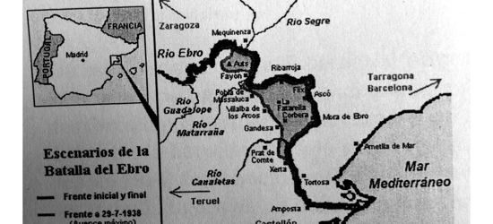 Mi tío Josep Amela 'en campaña', 1938 | Seis cartas camino de la batalla del Ebro (tercera parte)