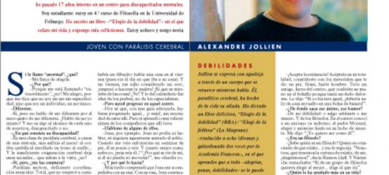 La Contra | Alexandre Jollien, joven con parálisis cerebral