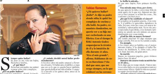 La Contra | Cristina Hoyos, bailaora