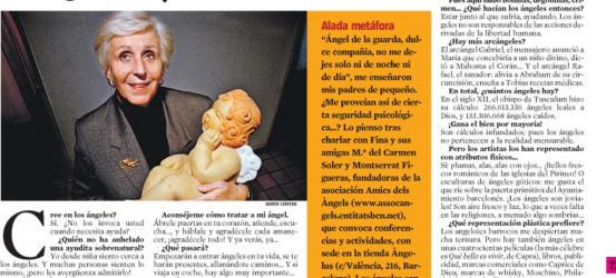 La Contra 22-12-2009 | Fina Armengol, presidenta de la asociación Amics dels Àngels