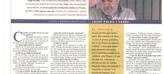 La Contra | Josep Palau i Fabre, poeta y experto en Picasso