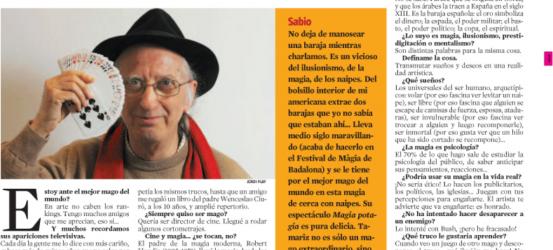 La Contra | Juan Tamariz, mago: 'Esto es pa' divertirse'