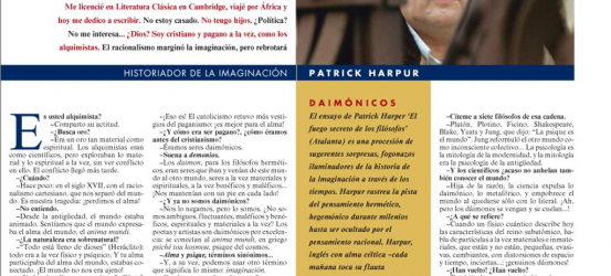 La Contra | Patrick Harpur, historiador de la imaginación: 'La imaginación es la realidad'