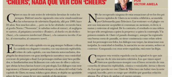 TvManía | 'Cheers', nada que ver con 'Cheers'