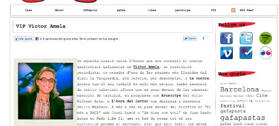 Qüestionari GAFAPASTAS a Víctor Amela