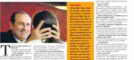 La Contra | Fernando Alberca, profesor de secundaria: 'Todos los niños pueden ser Einstein si los motivas bien'