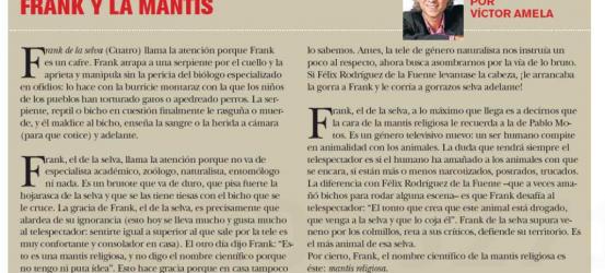 TvManía | Frank y la mantis