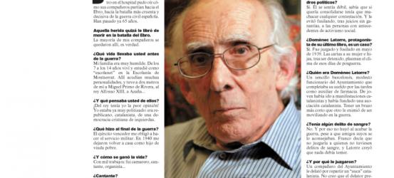 La Contra | Josep Benet: 'Yo, desde julio de 1939'