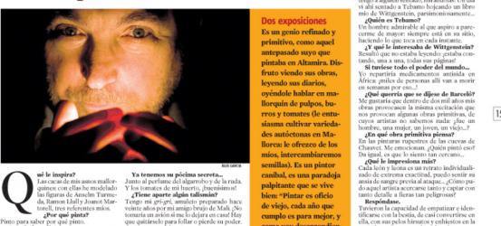 La Contra | Miquel Barceló, artista: 'Yo hago como los pulpos, devoro partes de mí mismo'