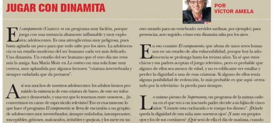 TVManía | Jugar con dinamita