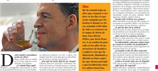 La Contra 22 abril 2008 | Santiago Botas, experto en aceite de oliva virgen: 'Puedes disfrutar de aceites dignos de un emperador'
