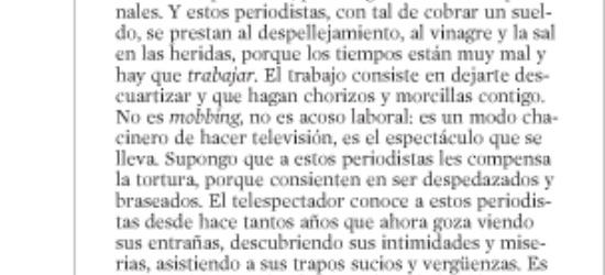 CRÍTICA DE TV | El plató como cadalso