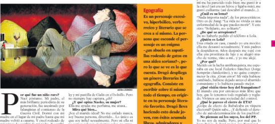 La Contra | Fernando Sánchez Dragó, escritor: 'Soy el mejor protagonista de la novela que quiero vivir'
