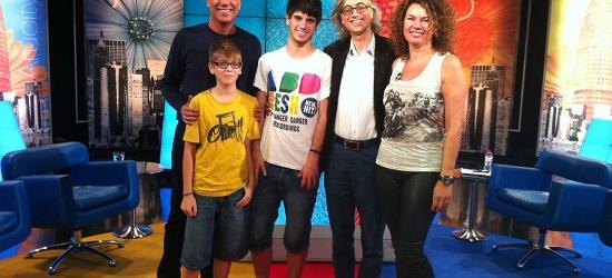 Balonmano, Escola Voramar, mis hijos y la tele