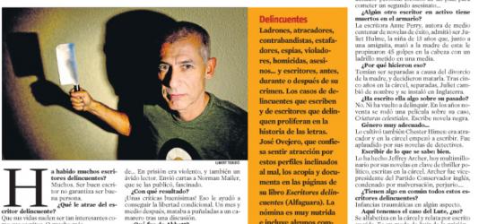 La Contra | José Ovejero, escritor: 'Ser buen escritor no garantiza ser buena persona'