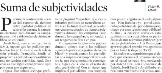Políticos en los medios: CONECTADO | Suma de subjetividades