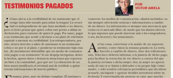 TvManía | Testimonios pagados