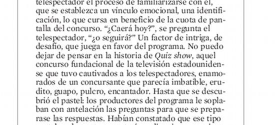 CRÍTICA DE TV | El rostro del rosco