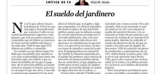 CRÍTICA DE TV | El sueldo del jardinero