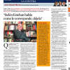 La Contra | José Manuel Blecua, director de la Real Academia Española: 'Belén Esteban habla como le corresponde, déjela'