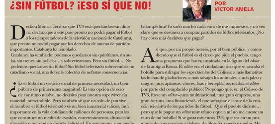 TvManía | Sin fútbol... ¡eso sí que no!