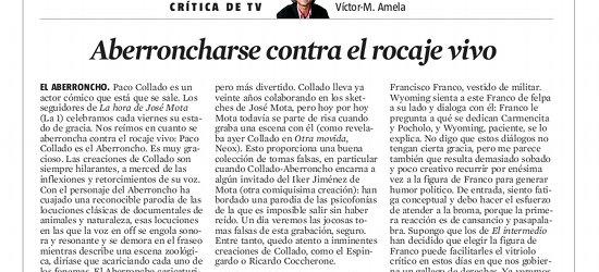 CRÍTICA DE TV | Aberroncharse contra el rocaje vivo