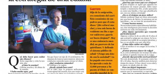 La Contra | Antonio Alcaraz, cirujano urológico: 'Planifico cada operación con la estrategia de una batalla'