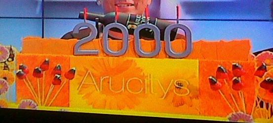 Felicidades a Arucitys por sus 2.000 programas!!!!