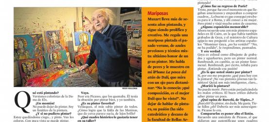 La Contra | Jaume Muxart, pintor: 'Soy un fanático de la pintura'